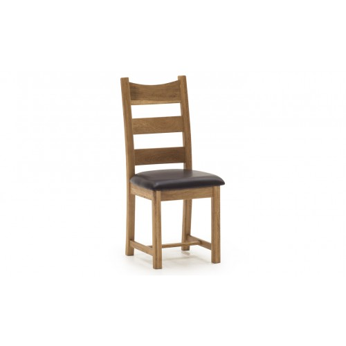 York Dining Chair - Brown Seat
