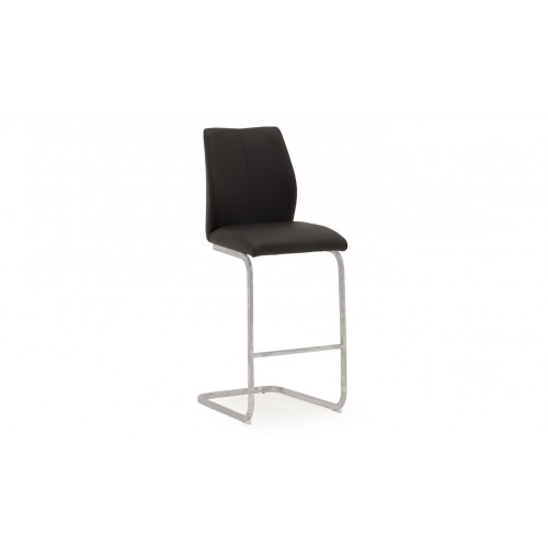 Elis Bar Chair - Black
