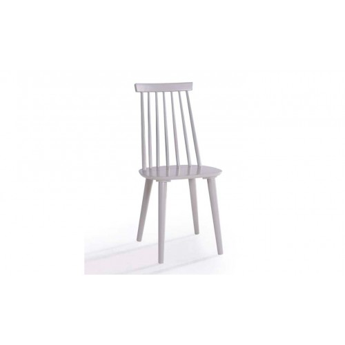 Isla Spindle Dining Chair - Grey