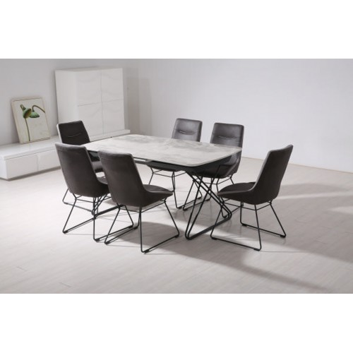 Nero Dining Table Extending 1600-2000