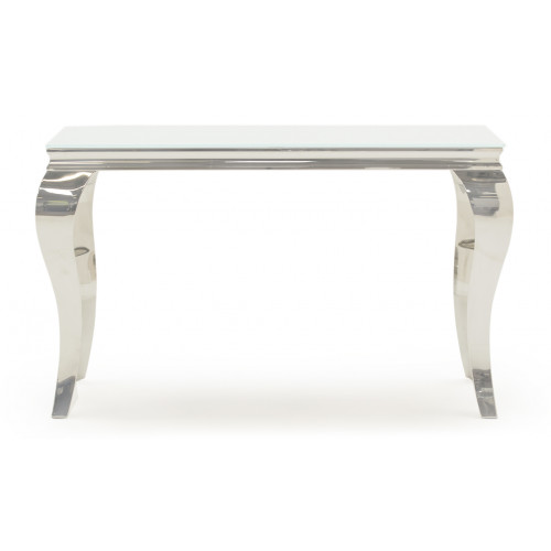 Louis Console Table - White