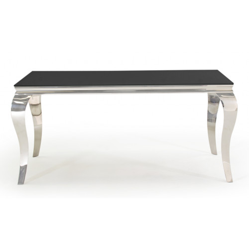 Louis Dining Table - Black 1600mm