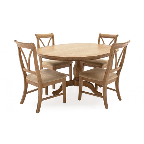 Carmen - Fixed Oval Dining Table