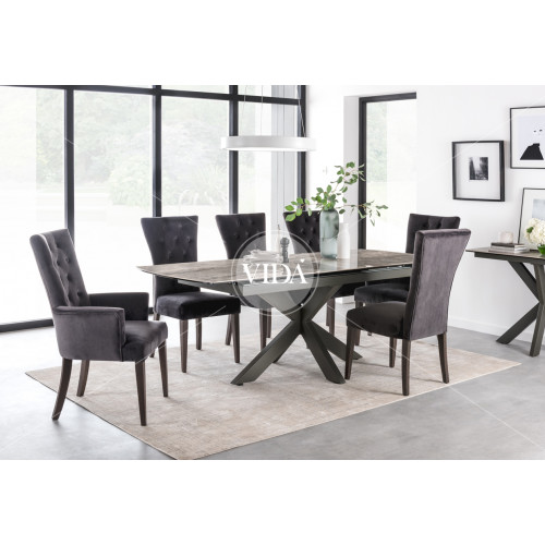 Valerius Dining Table Extending 1700-2200